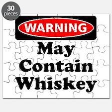 Warning May Contain Whiskey Puzzle