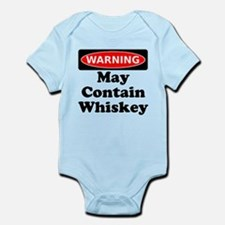 Warning May Contain Whiskey Body Suit