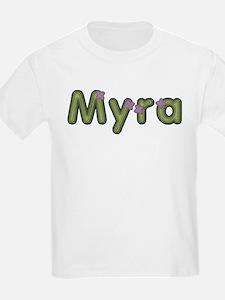 Myra Spring Green T-Shirt