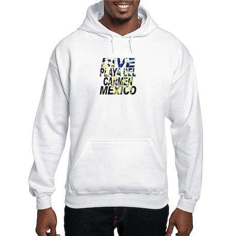 Dive Playa Del Carmen Mexico Hooded Sweatshirt