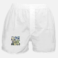 Dive Playa Del Carmen Mexico Boxer Shorts