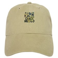 Dive Playa Del Carmen Mexico Baseball Cap