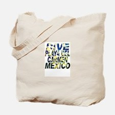 Dive Playa Del Carmen Mexico Tote Bag