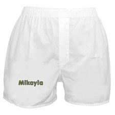 Mikayla Spring Green Boxer Shorts