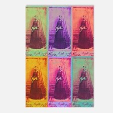 Florence Nightingale Colors Postcards (Package of
