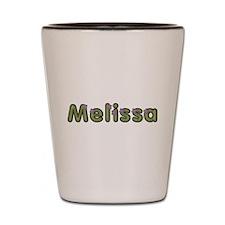 Melissa Spring Green Shot Glass