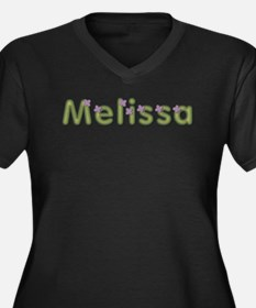 Melissa Spring Green Plus Size T-Shirt
