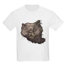 Grey Persian Cat T-Shirt
