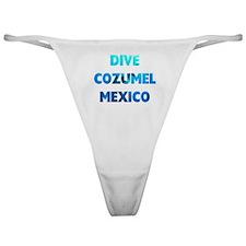 Dive Cozumel Classic Thong