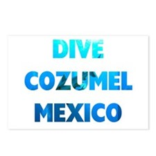 Dive Cozumel Postcards (Package of 8)