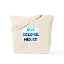 Dive Cozumel Tote Bag
