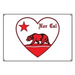 love nor cal bear red Banner