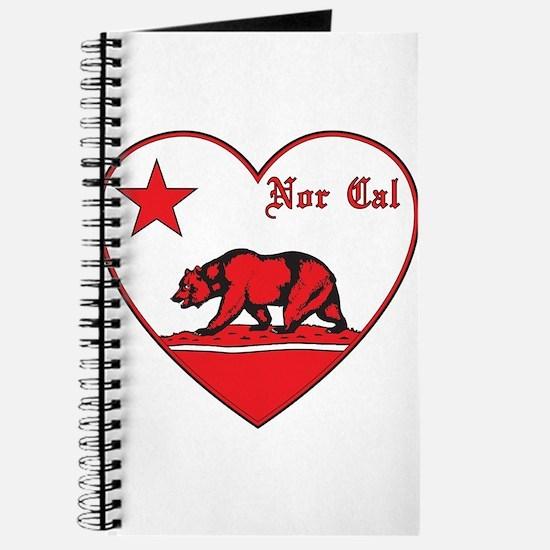 love nor cal bear red Journal