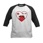 love nor cal bear red Baseball Jersey