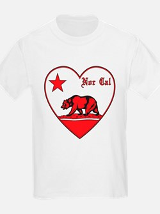 love nor cal bear red T-Shirt