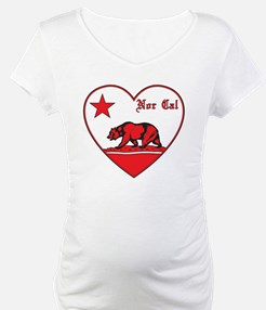 love nor cal bear red Shirt