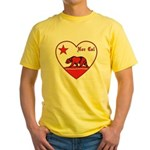 love nor cal bear red T-Shirt