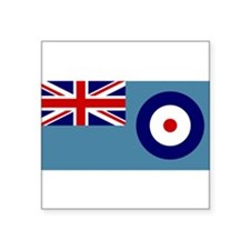 UK's RAF Flag Shoppe Rectangle Sticker