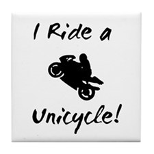 Motorcycles Tile Coaster