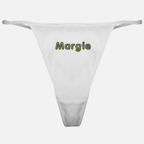Margie Spring Green Classic Thong