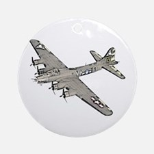 B-17 Ornament (Round)