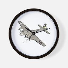 B-17 Wall Clock
