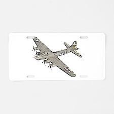 B-17 Aluminum License Plate