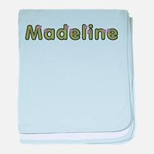 Madeline Spring Green baby blanket