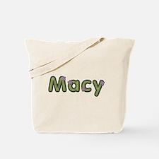 Macy Spring Green Tote Bag