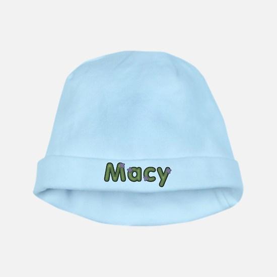 Macy Spring Green baby hat