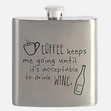 Coffee keeps me going... Flask