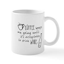 Coffee keeps me going... Small Mugs