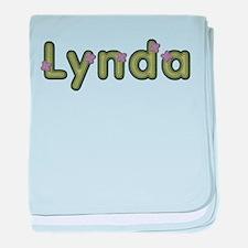 Lynda Spring Green baby blanket
