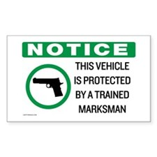 Vehicle Marksman Notice Decal
