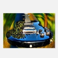 Rocked Out Guitar Postcards (Package of 8)