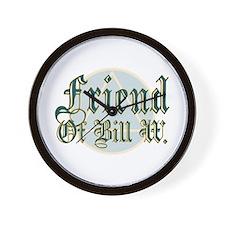 Friend Of Bill W Wall Clock