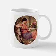 Greek Lady with Roses Mug
