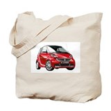 Smart car Canvas Totes