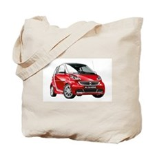smart 451 - 2013 Red / Silver Tote Bag