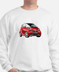 smart 451 - 2013 Red / Silver Sweatshirt