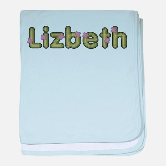 Lizbeth Spring Green baby blanket