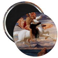 Perseus on Pegasus Mythology Magnet