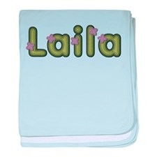 Laila Spring Green baby blanket