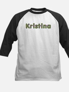 Kristina Spring Green Baseball Jersey