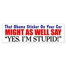 """That Obama Bumper Stickers"" Bumper Bumper Stickers"