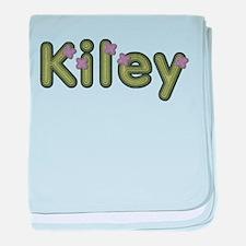 Kiley Spring Green baby blanket