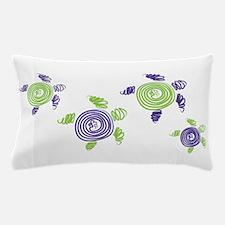 Autism Awareness Turtle Pillow Case