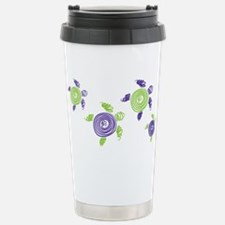 Autism Awareness Turtle Travel Mug
