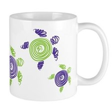 Autism Awareness Turtle Mug