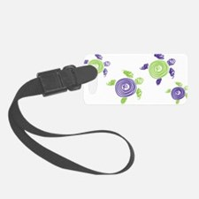 Autism Awareness Turtle Luggage Tag